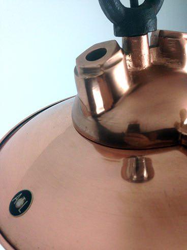 label copper fresnel lens ship's light