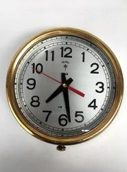 Vintage Brass Polaris Ship's Clock