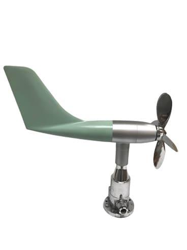 Smaller Polished Aluminium & Fibreglass Nautical Wind Anemometer