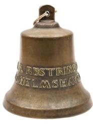 Large Bronze Bell German MS Rustringen 1952