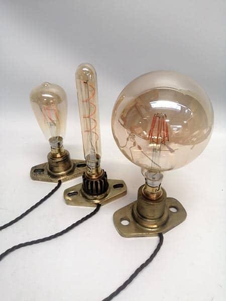 vintage light bulb table lamps
